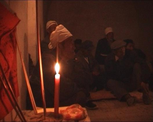 Baiyunshan pilgrims 2001