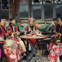 Hunyuan Daoists 1992 https://stephenjones.blog/2017/03/05/shanxi-summer-1992/