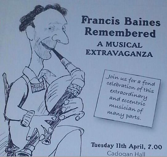 Baines concert