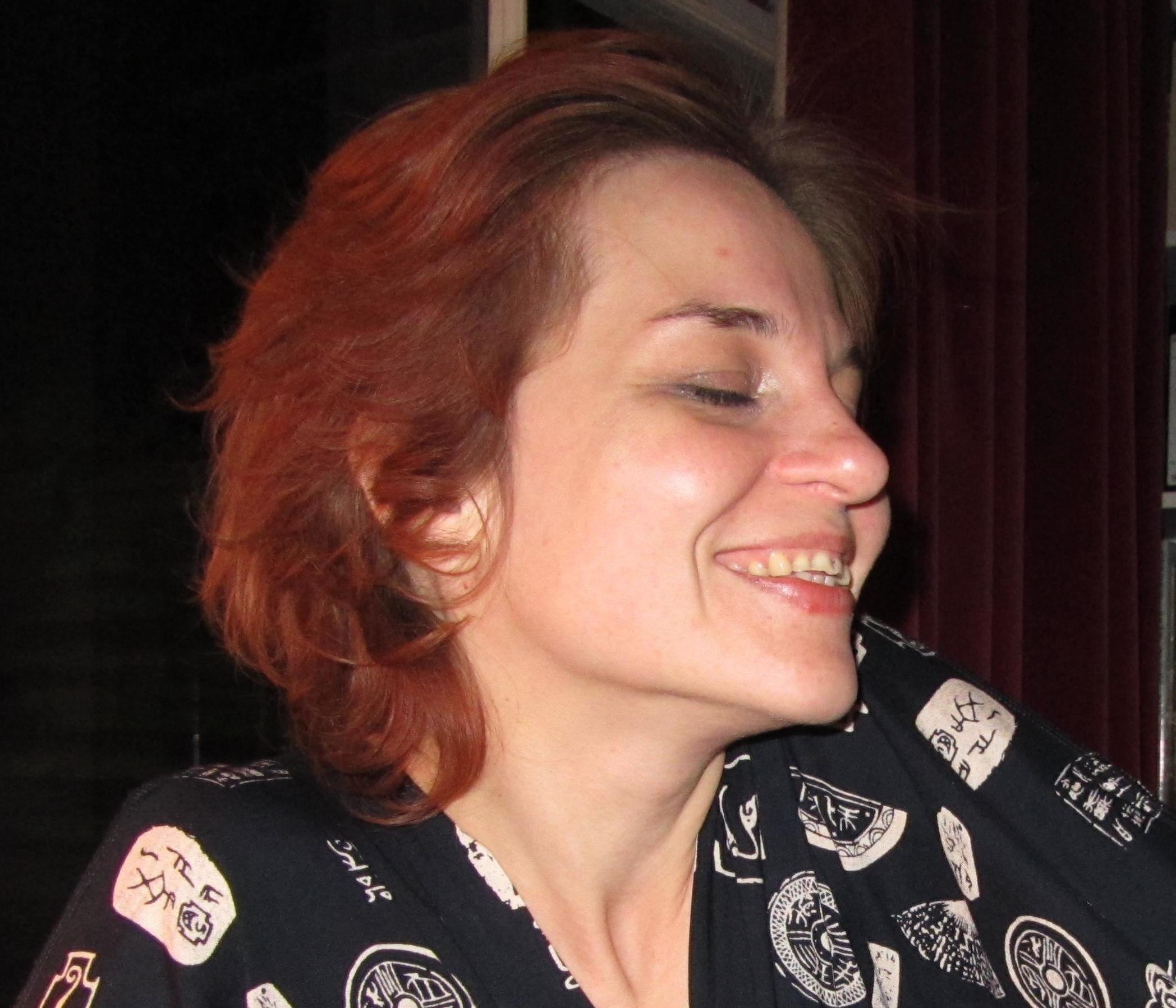 Natasha smile