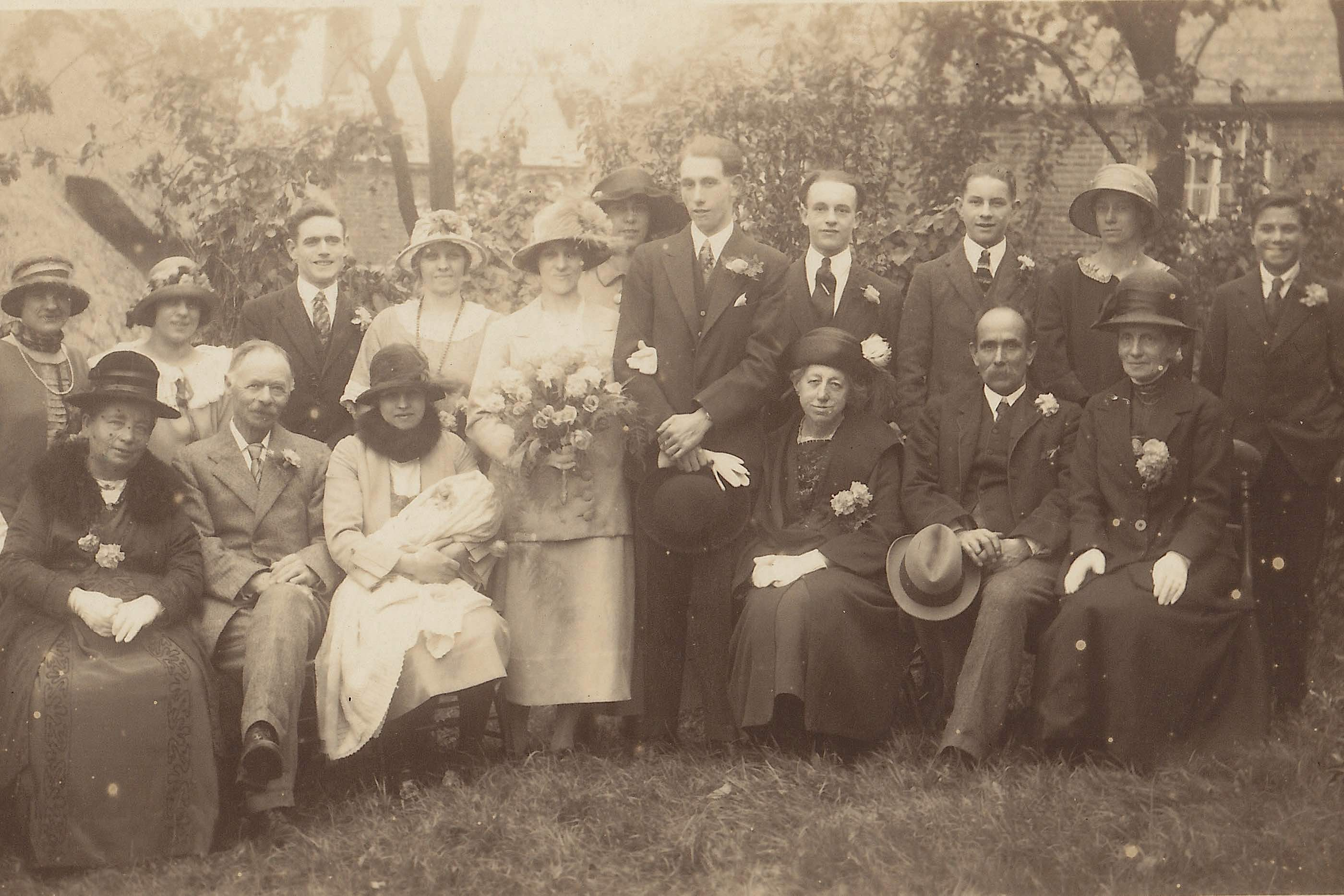 1925 wedding