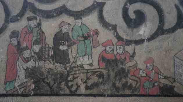 Daoist procession
