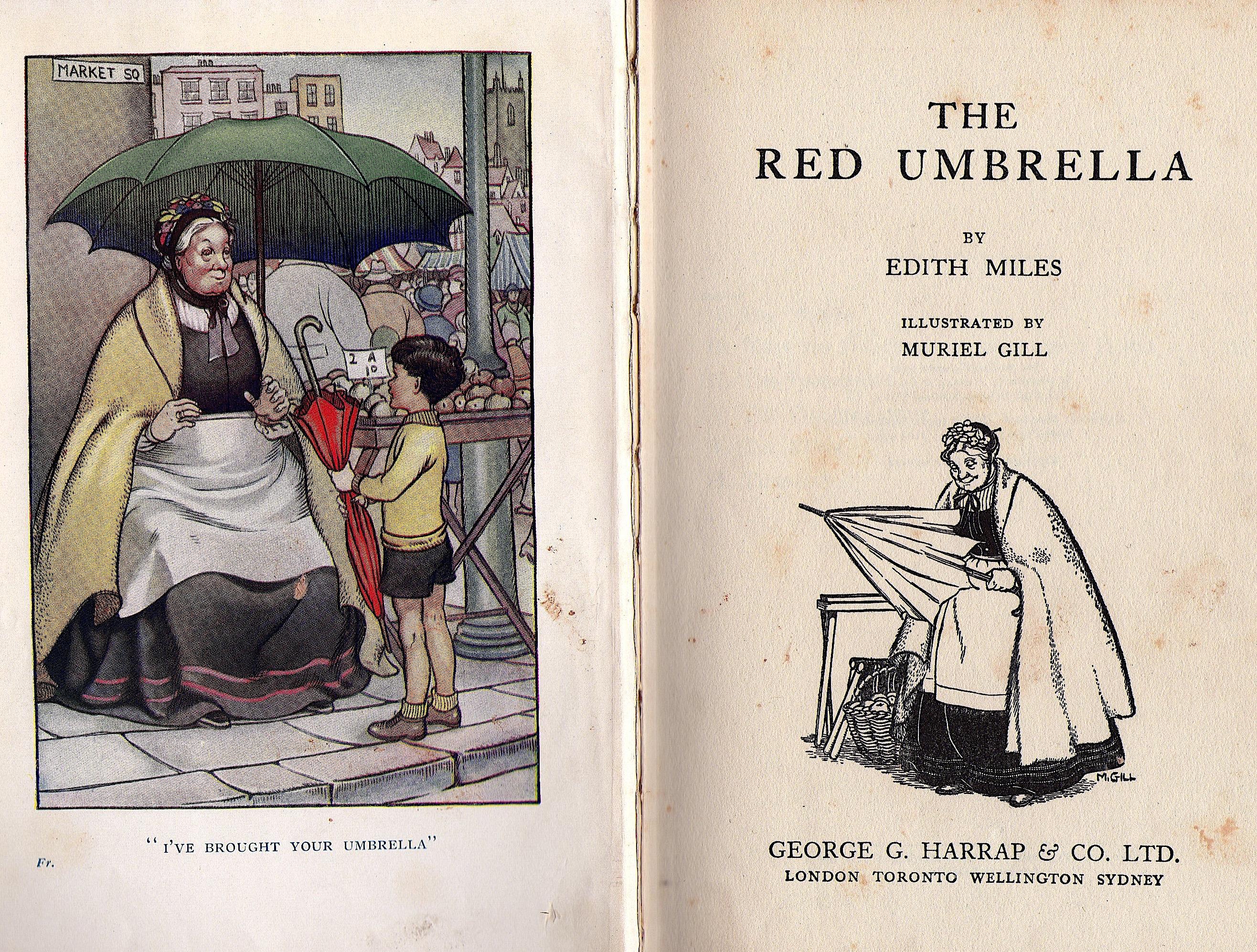 Red umbrella lowres
