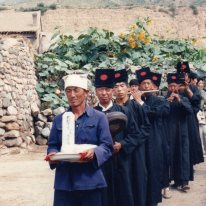 Funeral procession, Yanggao https://stephenjones.blog/yanggao-other/
