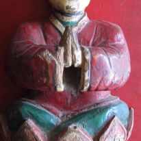 Statuette, Tianzhen https://stephenjones.blog/tianzhen-daoists/