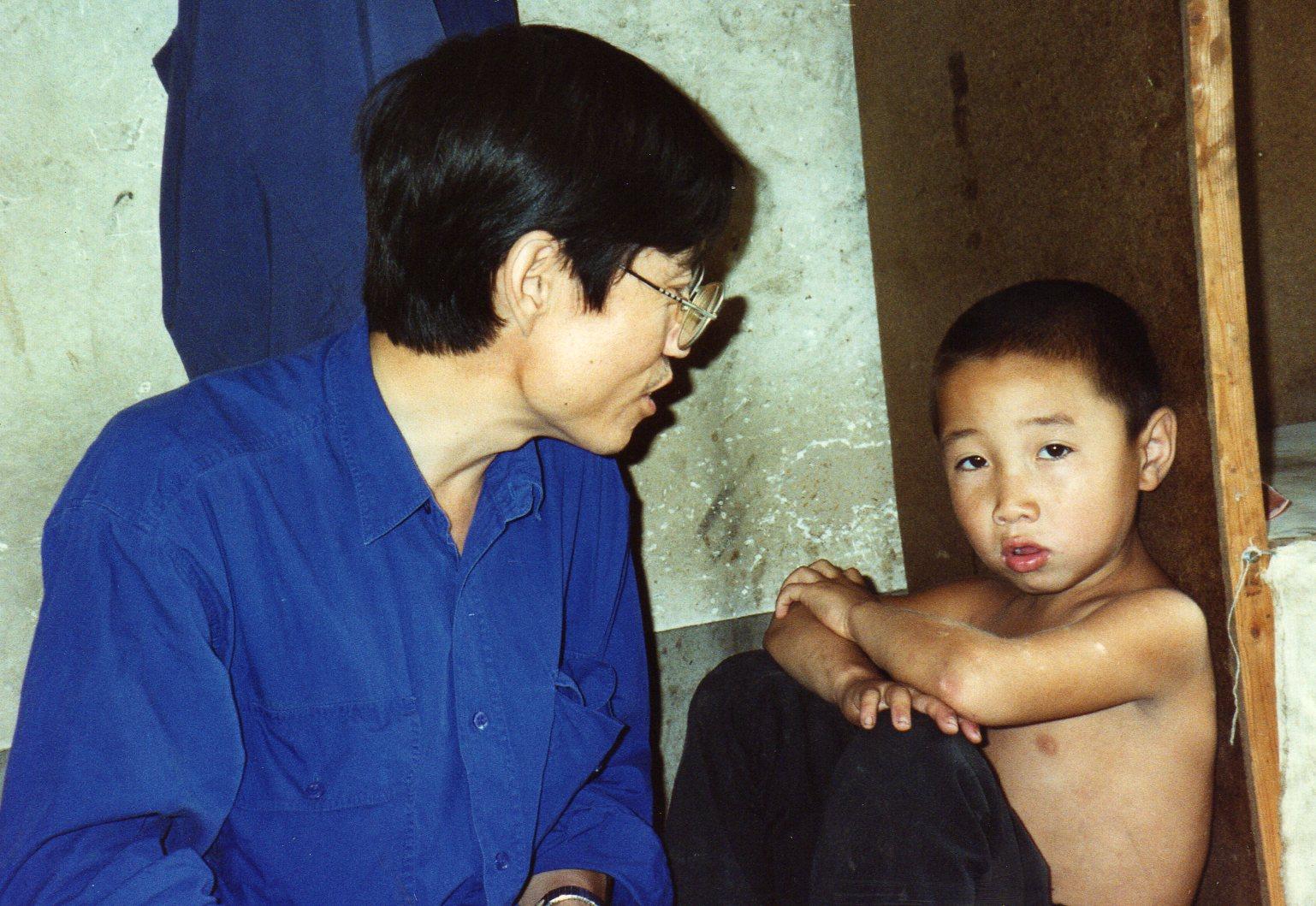 N. Shakou XYB and kid