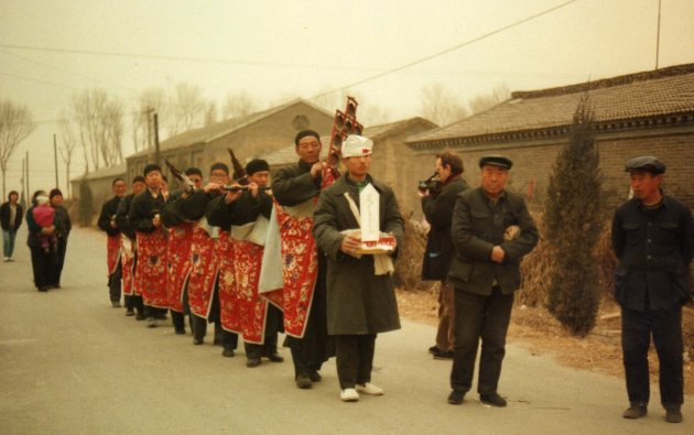 N. Xinzhuang procession