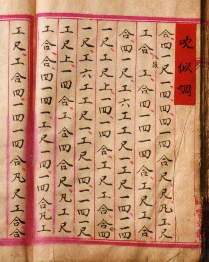 Xin'an Yingming score