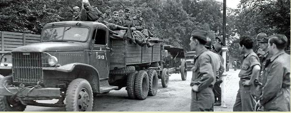 US Russian handover 1945