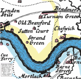 Chiswick old map