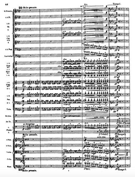 Mahler 2 crescendo