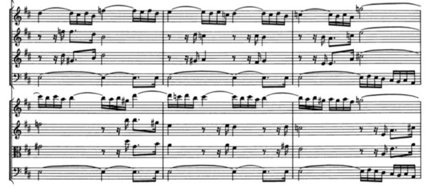 Bach 4th suite