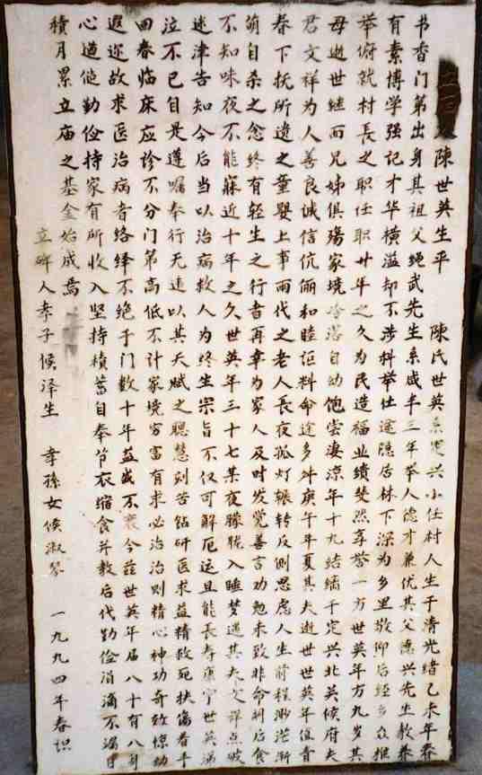 Chen Shiying bio