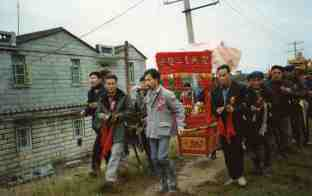 Mazu procession https://stephenjones.blog/2019/04/16/fujian-1961/