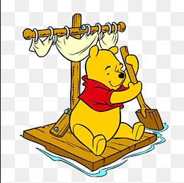 Pooh boat