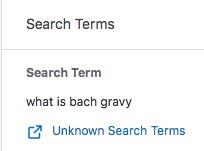 Bach gravy