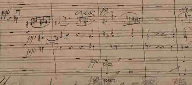 Bruckner 7 score