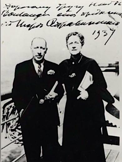 Boulanger with Stravinsky