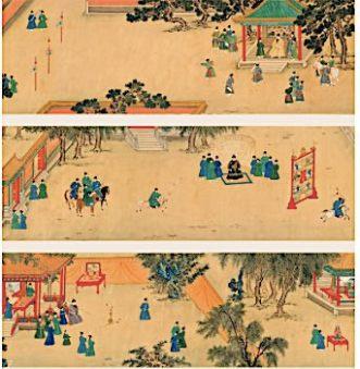 Ming scroll