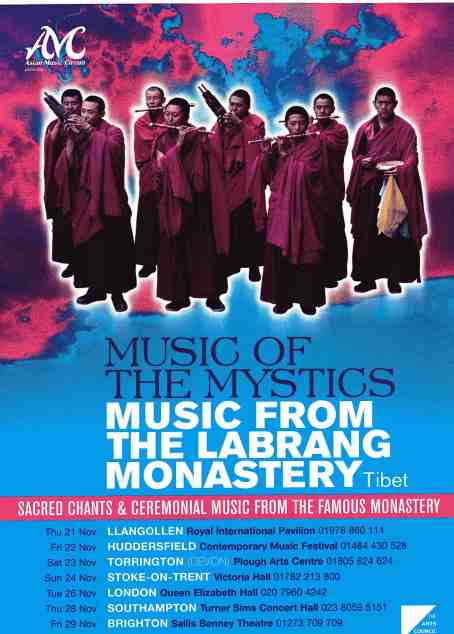 Labrang tour poster
