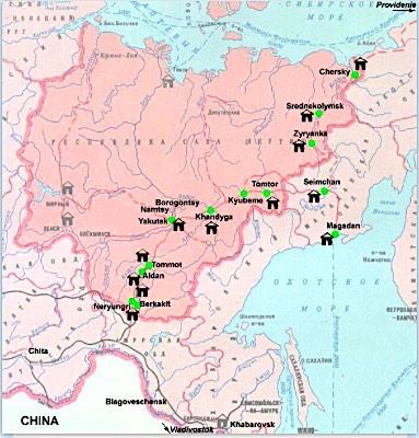 Kolyma map