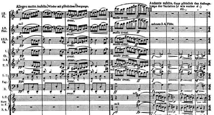 Mahler 4 adagio 1