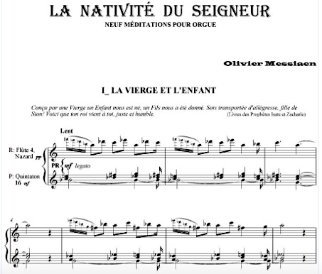 Nativité score