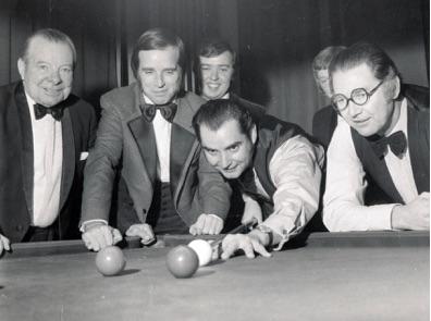 Snooker b&w