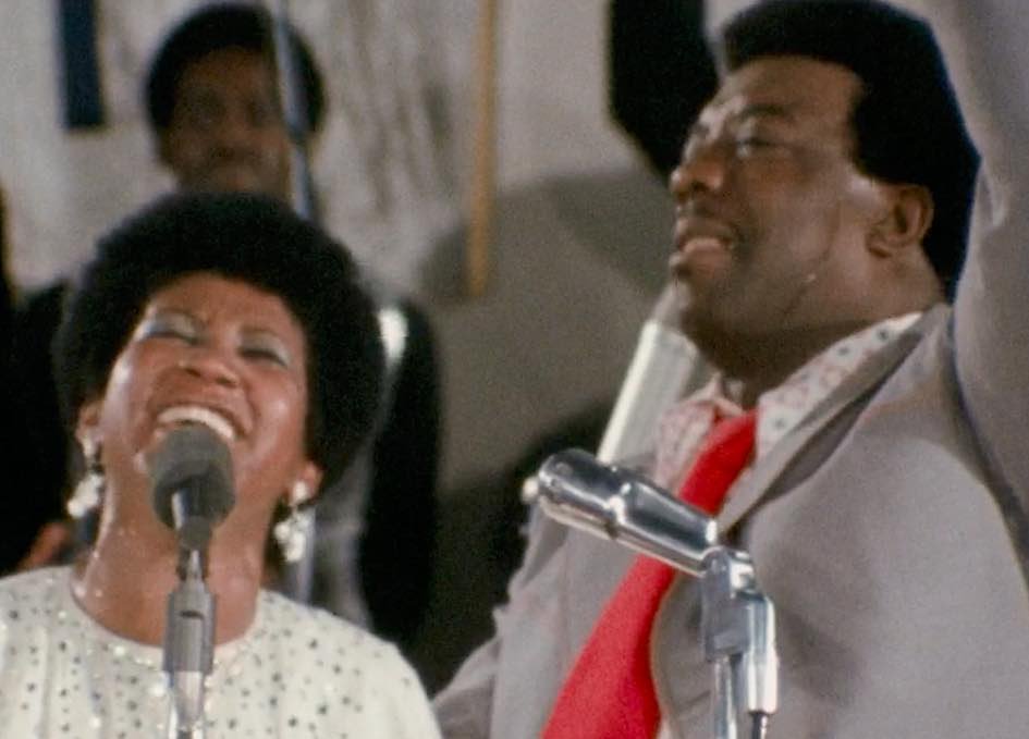 Aretha and Rev