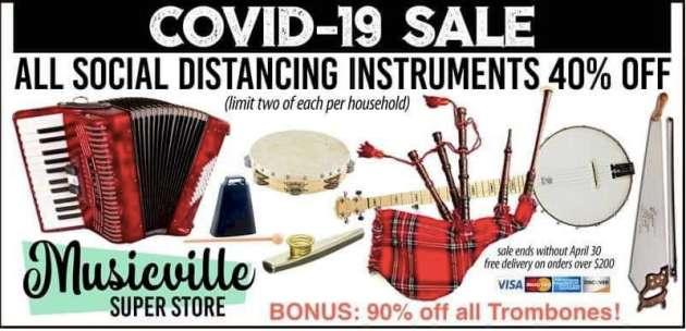 Covid instruments