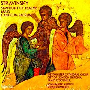 Stravinsky CD cover