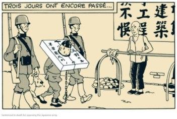 Tintin cangue