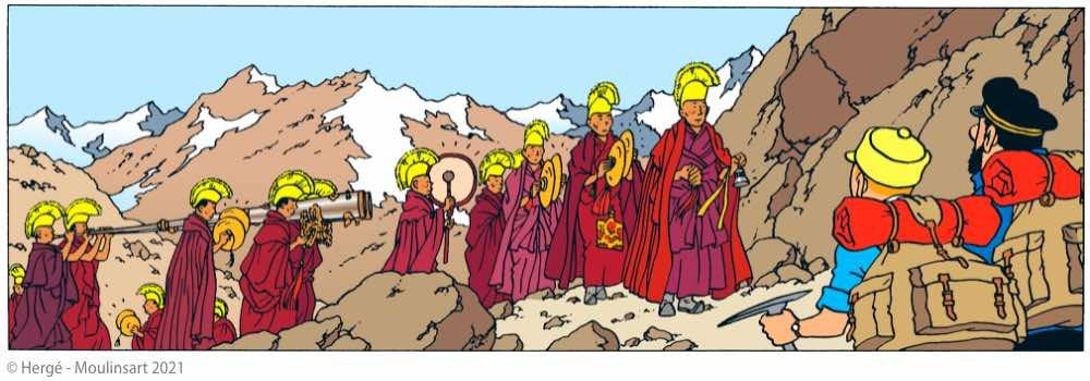 Tintin lamas