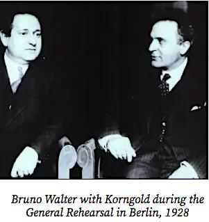 Korngold and Walter 1928