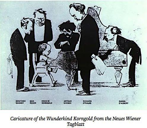 Korngold cartoon