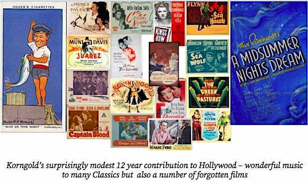 Korngold films